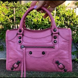 Balenciaga City mini 2016 Rose Hortencia Pink NEW